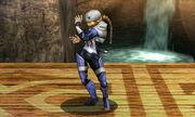 Burla inferior Sheik SSB4 (3DS)