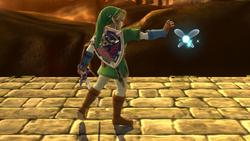 Burla lateral de Link (1) SSB4 (Wii U)