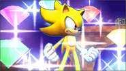 Créditos Modo Senda del guerrero Sonic SSB4 (3DS)