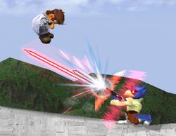 Lanzamiento trasero de Falco (2) SSBM