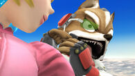 Peach y Fox - (SSB. for Wii U)