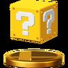 Trofeo de Bloque? SSB4 (Wii U)