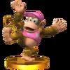 Trofeo de Diddy Kong (alt.) SSB4 (3DS)