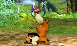 Ataque fuerte superior de Dúo Duck Hunt SSB4 (3DS)