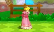Burla inferior Peach SSB4 (3DS)
