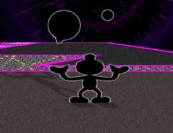 Lanzamiento hacia arriba Mr. Game & Watch (3) SSBM