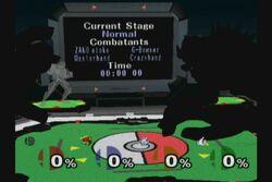Personajes no jugables en el Estadio Pokemon SSBM (2)
