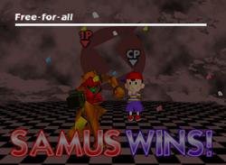 Pose de victoria de Samus (1) SSB