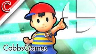 Smash 4 Credits Minigame (w Ness) - CobbsGames - Twitch Rescue (Super Smash Bros 4)