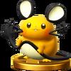 Trofeo de Dedenne SSB4 (Wii U)