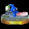 Trofeo de Pikmin Azul SSB4 (3DS)