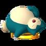 Trofeo de Snorlax SSB4 (3DS)