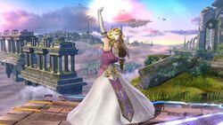 Ataque fuerte superior Zelda SSB4 Wii U