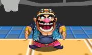 Burla superior Wario SSB4 (3DS) (1)