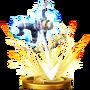Trofeo de Flecha de luz (Sheik) SSB4 (Wii U)