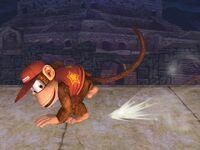 Ataque normal Diddy Kong SSBB (4)