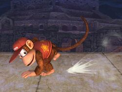 Ataque normal Diddy Kong SSBB (4)
