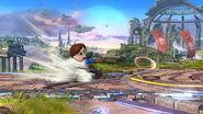 Espadachín Mii usando Chakram (1) SSB4 (Wii U)