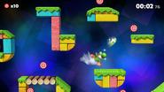 Imagen del nivel de Dianas Smash de Yoshi (Melee) en el supuesto port de SSB4 a Switch