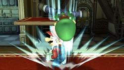Lanzamiento hacia abajo Luigi SSBB (3)