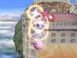 Lanzamiento hacia arriba de Jigglypuff (1) SSBB