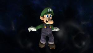 Luigi Desfigurado SSBB