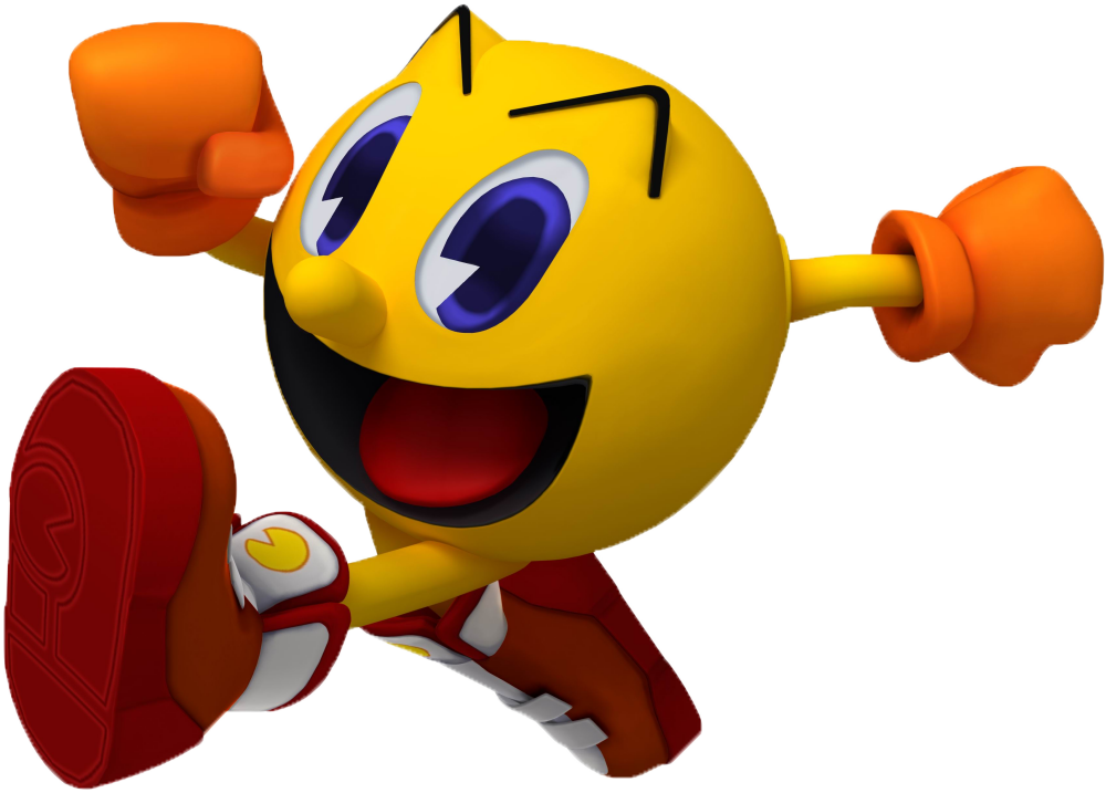 It is a photo of Gorgeous Pac Man Render