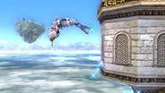 Salto delfín (2) SSB4 (Wii U)