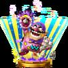 Trofeo de Wario Man SSB4 (Wii U)