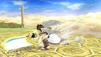 Ataque Smash lateral (2) Pit SSB4 Wii U