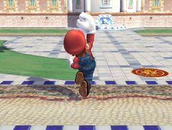 Ataque fuerte hacia arriba (2) Mario SSBB