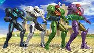 Paleta de colores de Samus SSB4 (Wii U) (2)