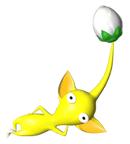 Pegatina del Pikmin amarillo SSBB