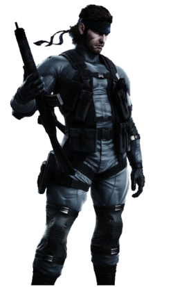 Solid Snake MGSTLC-0