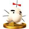 Trofeo de Mr. Saturn SSB4 (Wii U)