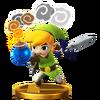 Trofeo de Toon Link (alt.) SSB4 (Wii U)