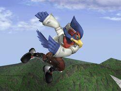Ataque Aéreo Normal Falco SSBB (3)