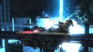 Efecto de Bahamut CERO en Midgar (2) SSB4 (Wii U)