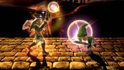 Golpe Trifuerza (Link) (1) SSB4 (Wii U)