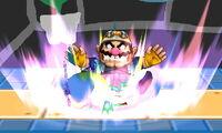 Lanzamiento hacia abajo de Wario (1) SSB4 (3DS)