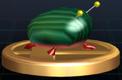 Trofeo de Escarabajo de sílex iridiscente SSBB