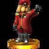 Trofeo de General Pepper SSB4 (3DS)