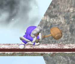 Ataque normal de Ice Climbers (1) SSBM
