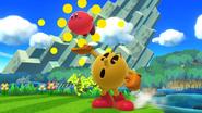 Créditos Modo Leyendas de la lucha PAC-MAN SSB4 (Wii U)