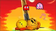 Créditos Modo Senda del guerrero PAC-MAN SSB4 (3DS)