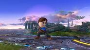Espadachín Mii usando Contrataque (1) SSB4 (Wii U)