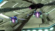 Fox y Samus Zero en la Estacion Espacial SSB4 (Wii U) (3)