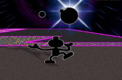 Lanzamiento hacia arriba Mr. Game & Watch (2) SSBM