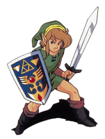 Pegatina Link A Link to the Past SSBB