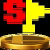 Trofeo de Bandera especial SSB4 (Wii U)